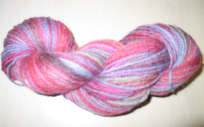Skein1 of Superwash English wool Blend