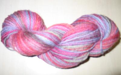 Skein1 of Superwash English wool Blend