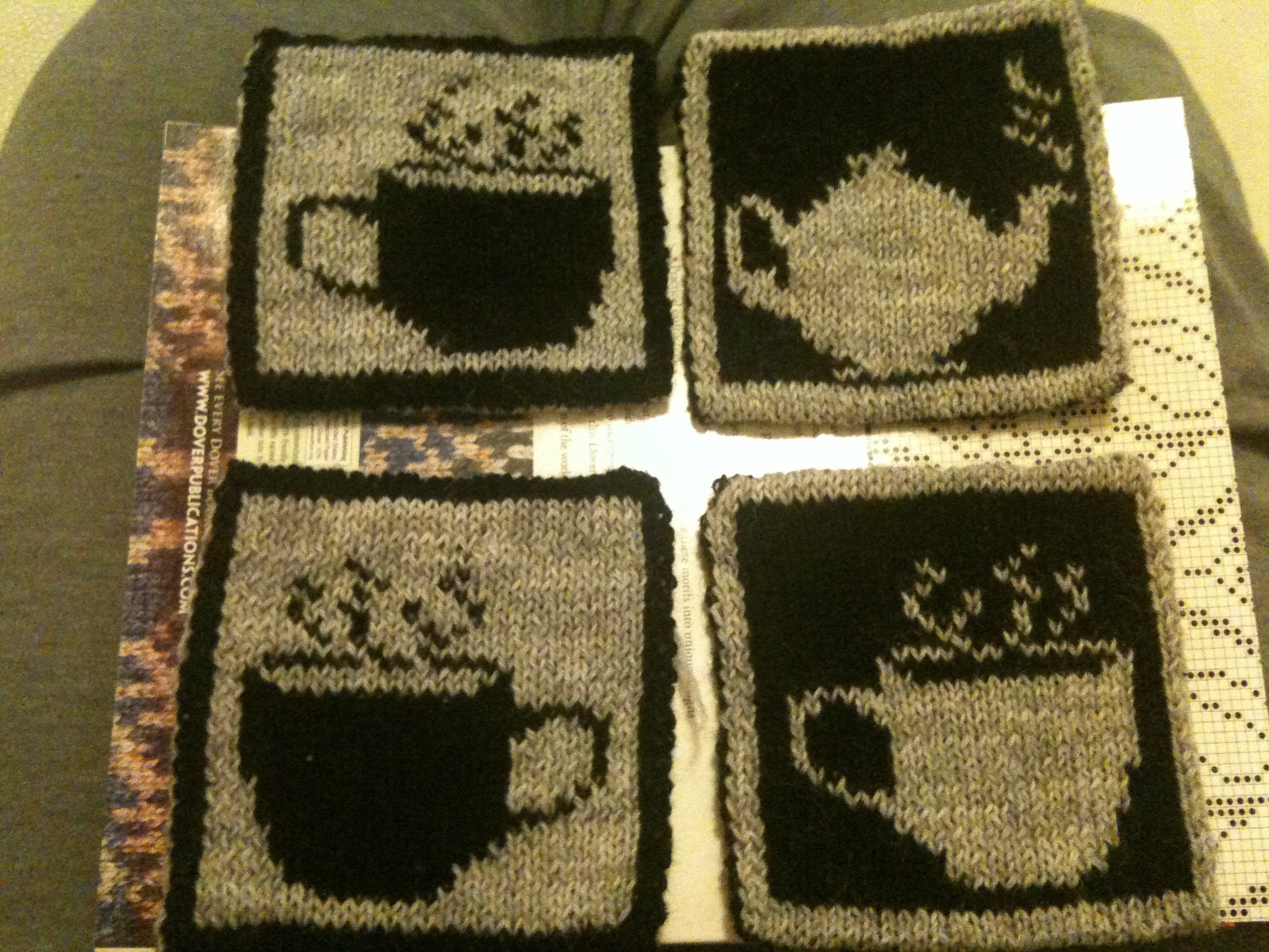 Double knit Coasters