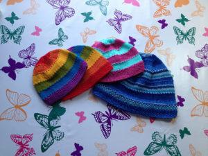 Equality Stripe Hat Sizes