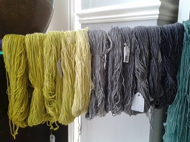 Dyeing workshop