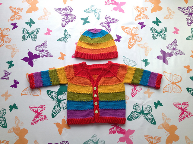 Equality Stripe Cardigan