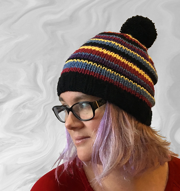 Quick Stripe Hat
